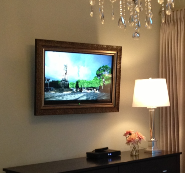 Wall Mounted TV pic