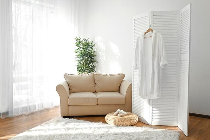 Summer Guest Bedroom interior light modern style