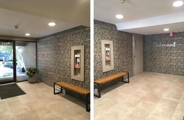 Condo apartment lobby project