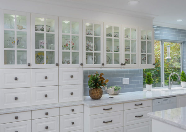 Colour coordinated kitchen