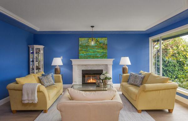 Proper lighting for interior colours