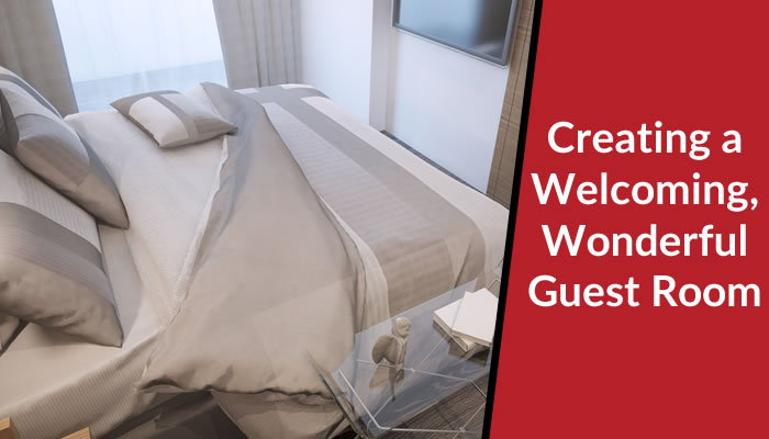 How to Create a Welcoming, Wonderful Guest Room for Summer
