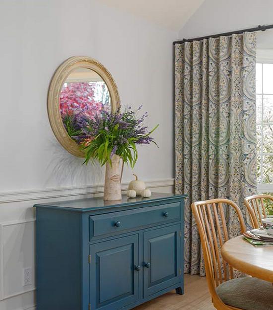 Lighten up your window treatments Living Room