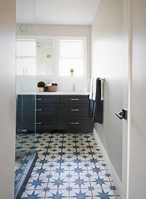 Batchroom Pantone color of year 2000 tile