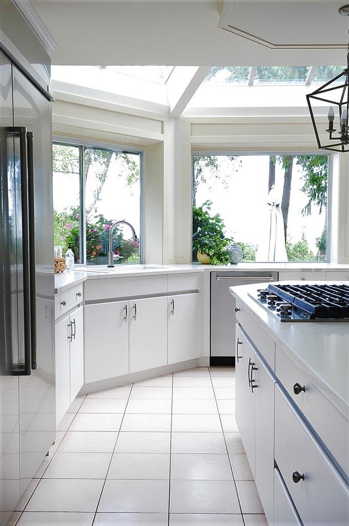 Kitchen Long Shot to Window