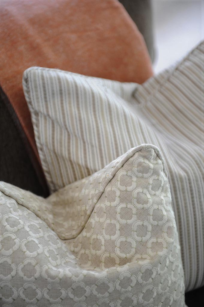 Cushions Close Up