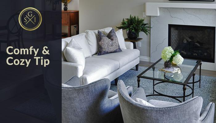Design Tip: Make a Room Comfy and Cozy