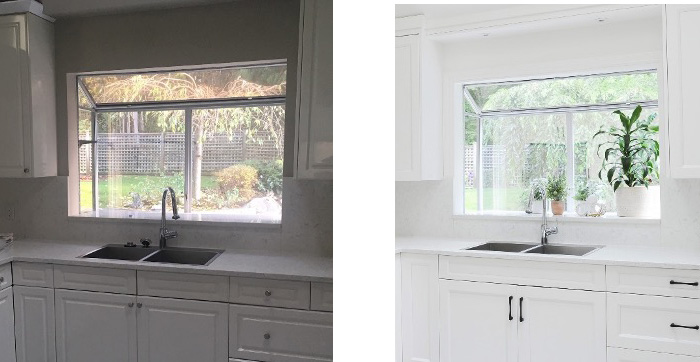 adding window trim