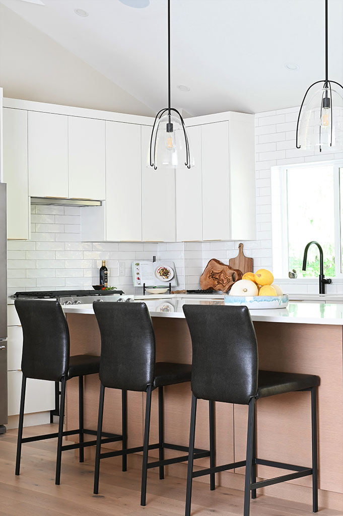 Weepers Kitchen Island from Living Room
