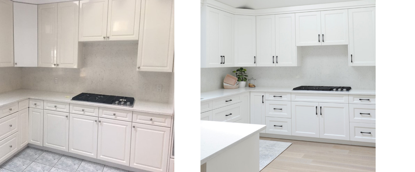 Emerson Kitchen Before and After