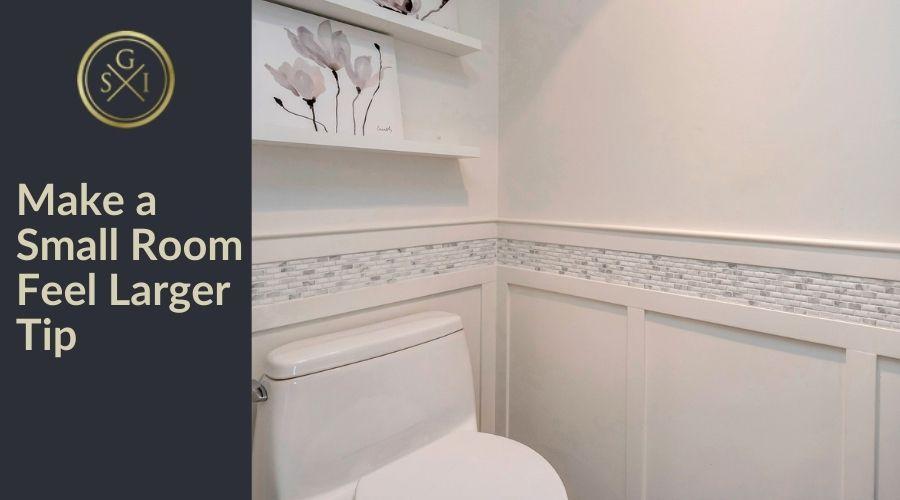 Make a Small Room Feel Larger Design Tip