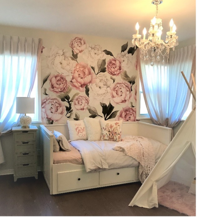 Ellie's bedroom interior design