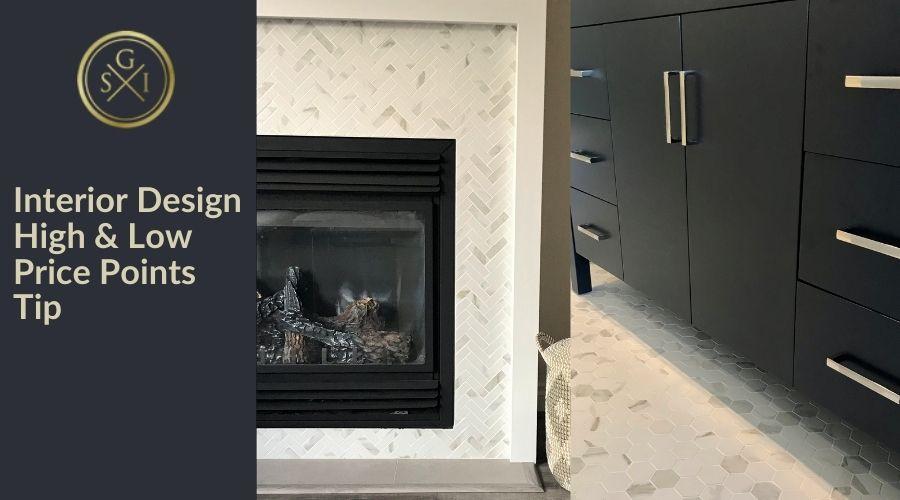 Interior Design High & Low Price Points Tip
