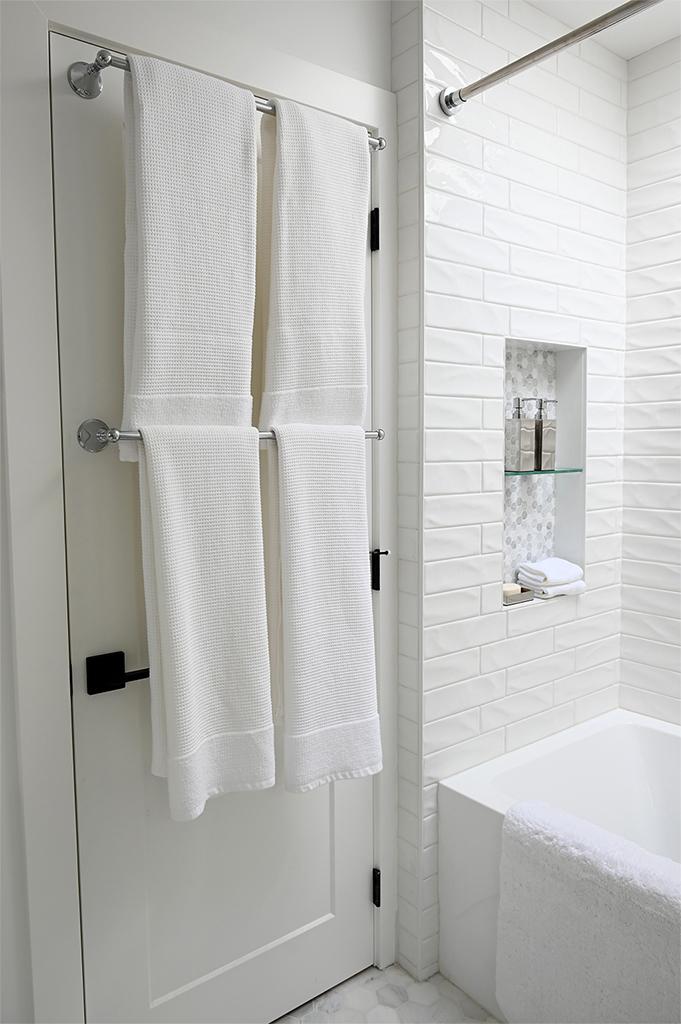 Ruskin Main Bathroom Behind Door Towels Tracey